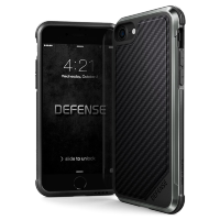 Чехол X-Doria Defense Lux для iPhone 7/8  Black Carbon