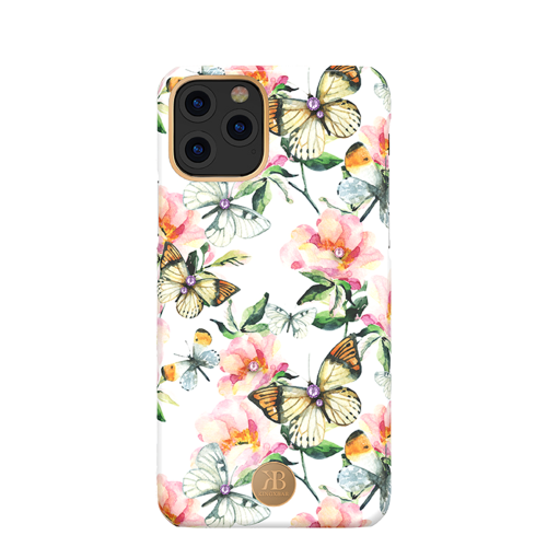 Чехол Kingxbar Blossom для iPhone 11 Pro Peach Flower
